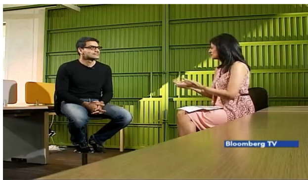 Pranay's Interview Bloomberg